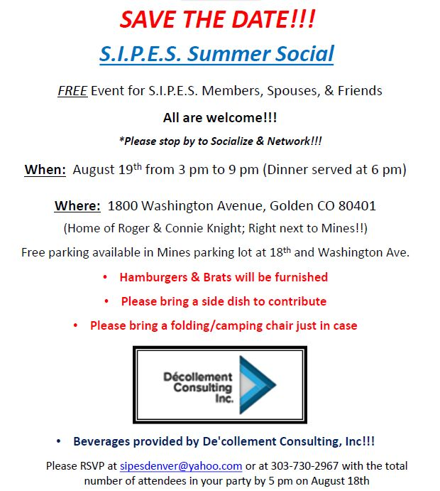 SIPES Summer Social